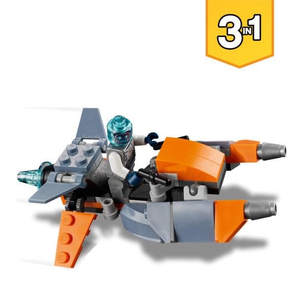 Creator  LEGO Creator Cyber-drone - 31111