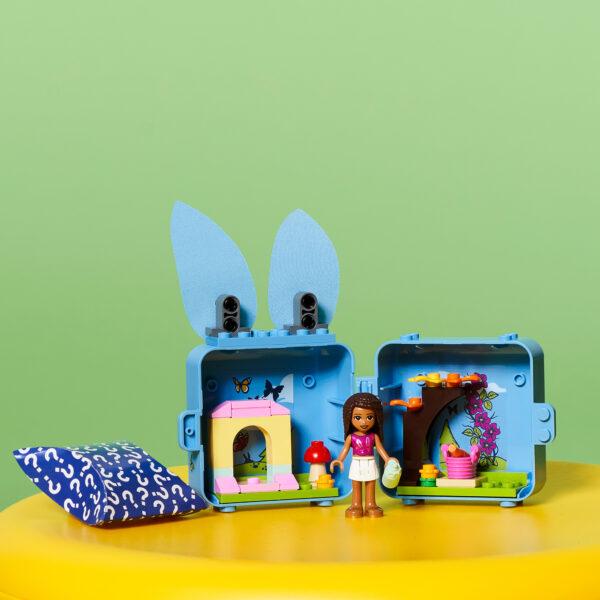Friends   LEGO Friends Il cubo del Coniglietto di Andrea - 41666