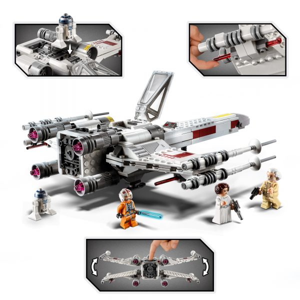 Star Wars  LEGO Star Wars X-Wing Fighter di Luke Skywalker - 75301