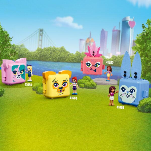 Friends  LEGO Friends Il Cubo del Dalmata di Emma - 41663