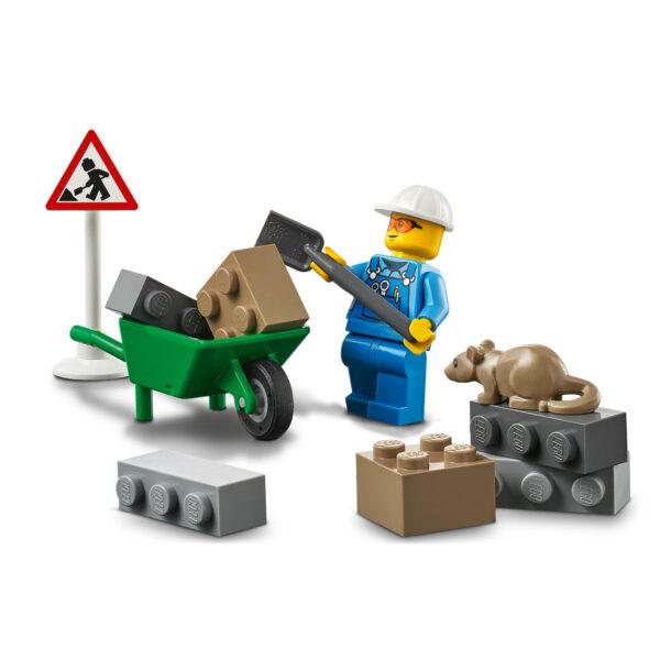 City LEGO City Ruspa da cantiere - 60284