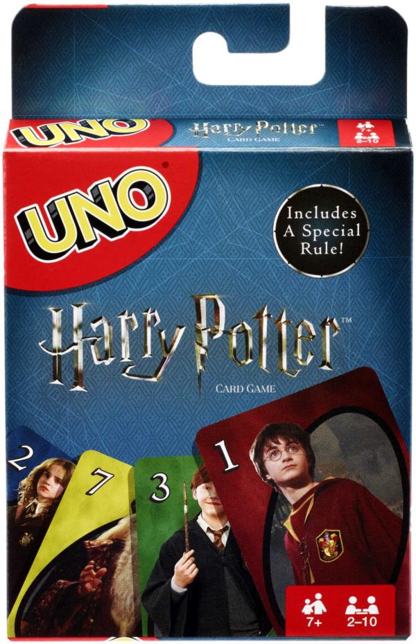 Uno Versione Harry Potter, Gioco di Carte    MATTEL GAMES