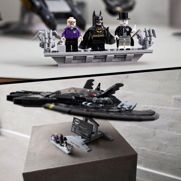 DC COMICS, DC Comics Super Heroes, Lego   LEGO Super Heroes Batman 1989 Batwing, Modello da Collezione, Set per Adulti con Minifigure Esclusive, 76161