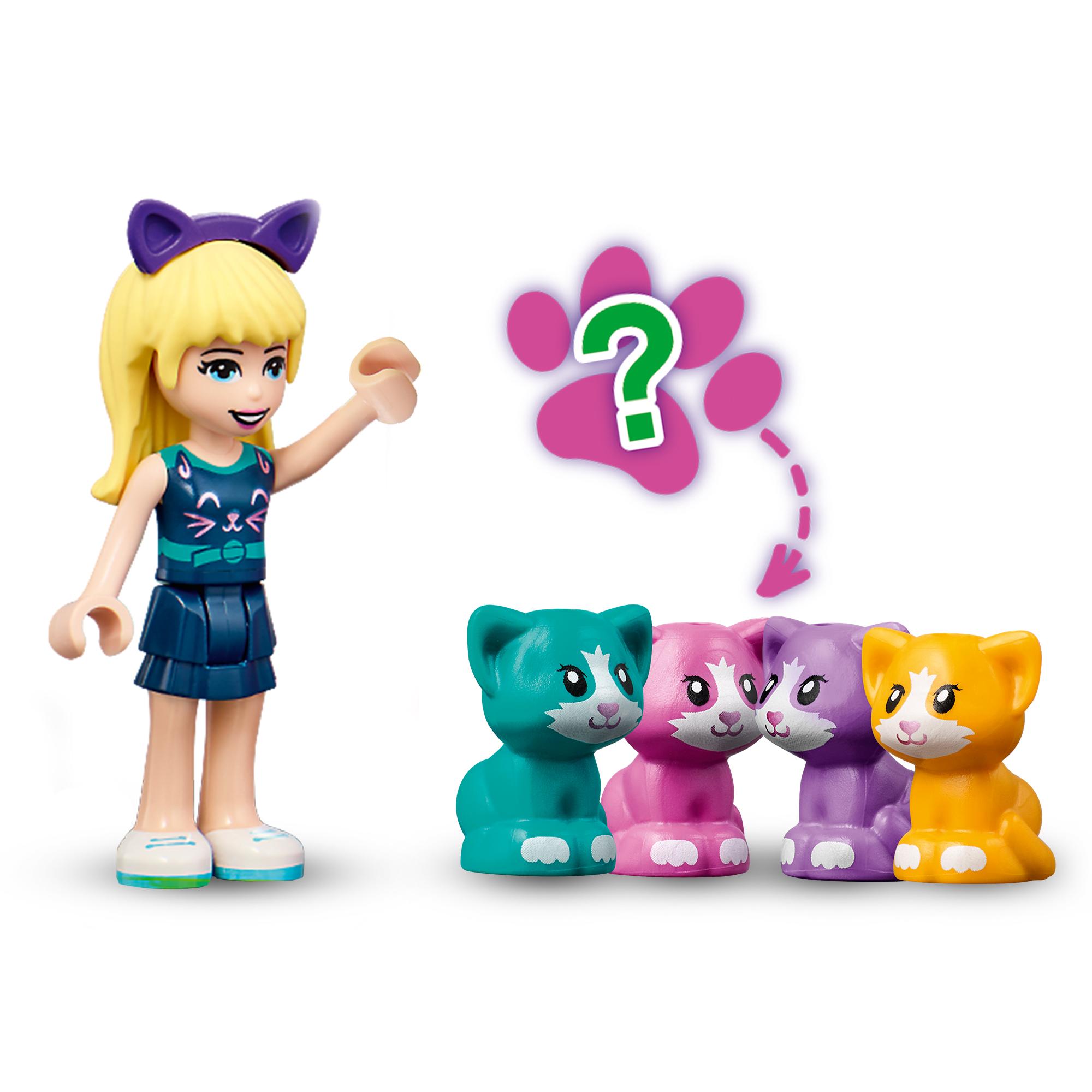 Lego friends il cubo del gatto di stephanie - 41665 - Friends, LEGO FRIENDS