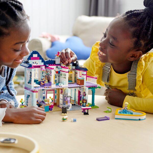 LEGO Friends La villetta familiare di Andrea - 41449    Friends