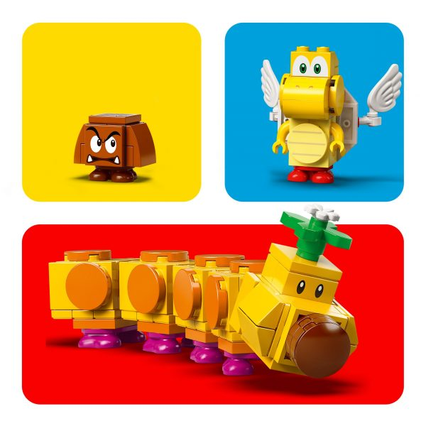 Super Mario   LEGO Super Mario La palude velenosa di Torcibruco - Pack di espansione - 71383