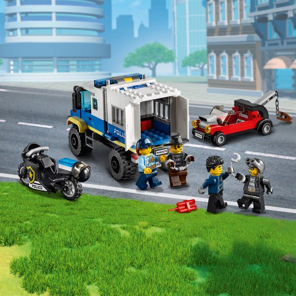 LEGO City Trasporto dei prigionieri della polizia - 60276    City