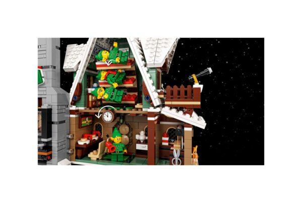 La casa degli elfi    Lego