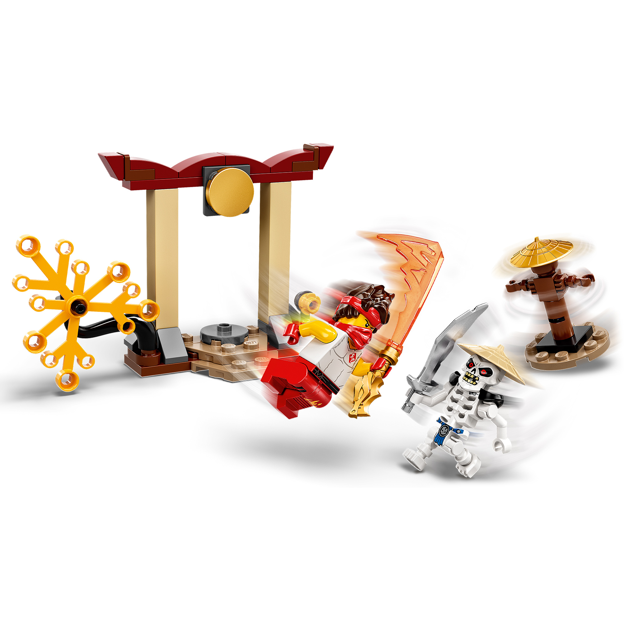Lego ninjago battaglia epica - kai vs skulkin - 71730 - LEGO NINJAGO, Ninjago