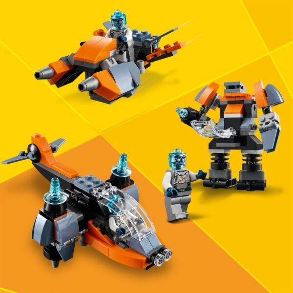 LEGO Creator Cyber-drone - 31111    Creator