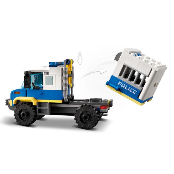 City  LEGO City Trasporto dei prigionieri della polizia - 60276