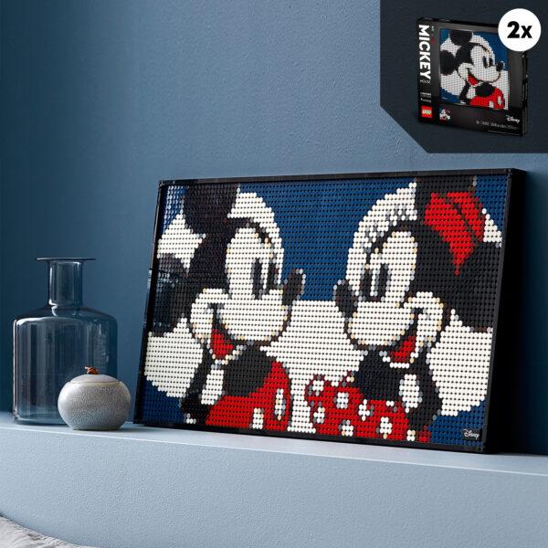 ART   LEGO ART Disney's Mickey Mouse - 31202