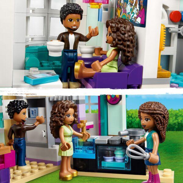 Friends LEGO Friends La villetta familiare di Andrea - 41449