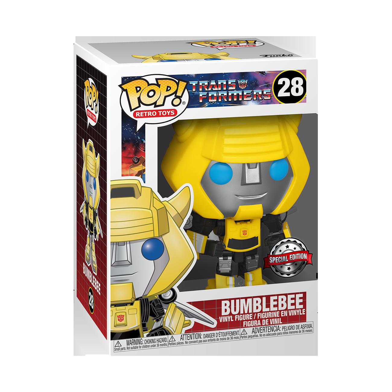Pop vinyl: transformers- bumblebee con ali -