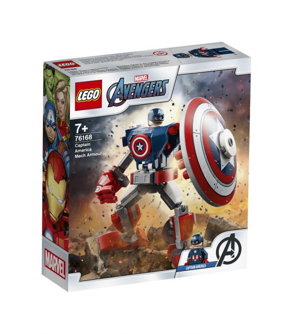 LEGO Marvel Super Heroes Captain America Mech Armor -76168 Marvel Super Heroes