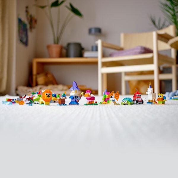 LEGO Classic Mattoncini trasparenti creativi - 11013 Classic