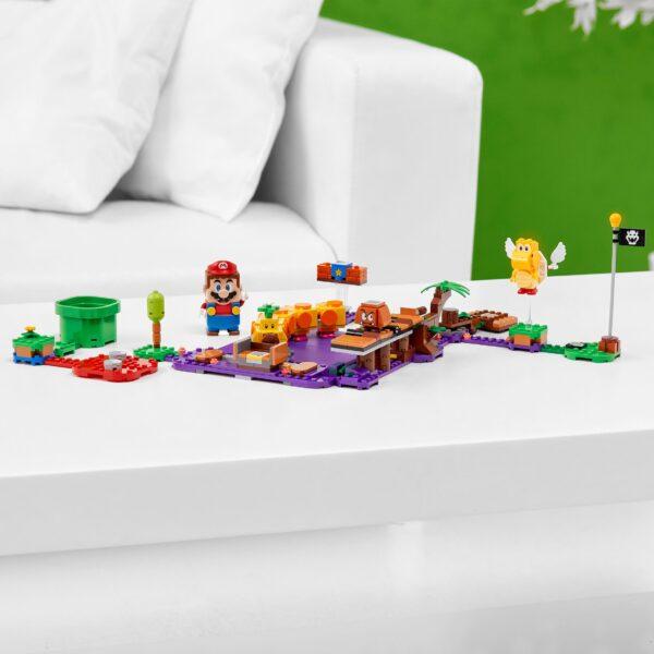 LEGO Super Mario La palude velenosa di Torcibruco - Pack di espansione - 71383   Super Mario