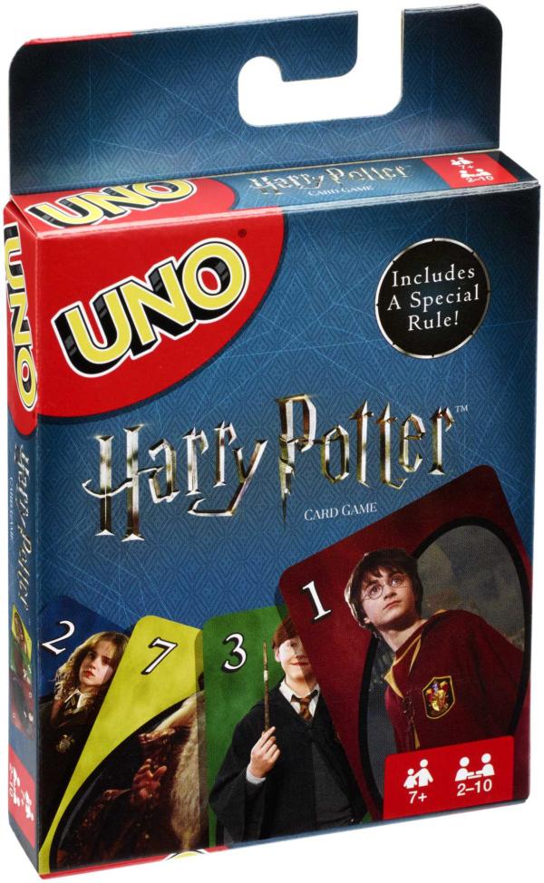 MATTEL GAMES   Uno Versione Harry Potter, Gioco di Carte