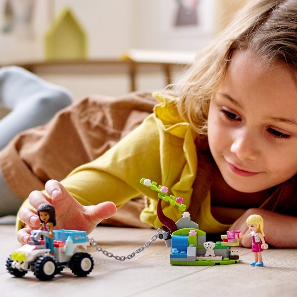LEGO Friends Il Buggy di Soccorso della Clinica Veterinaria per Bambini 6+ Anni con Mini-doll di Stephanie e Andrea, 41442    LEGO FRIENDS