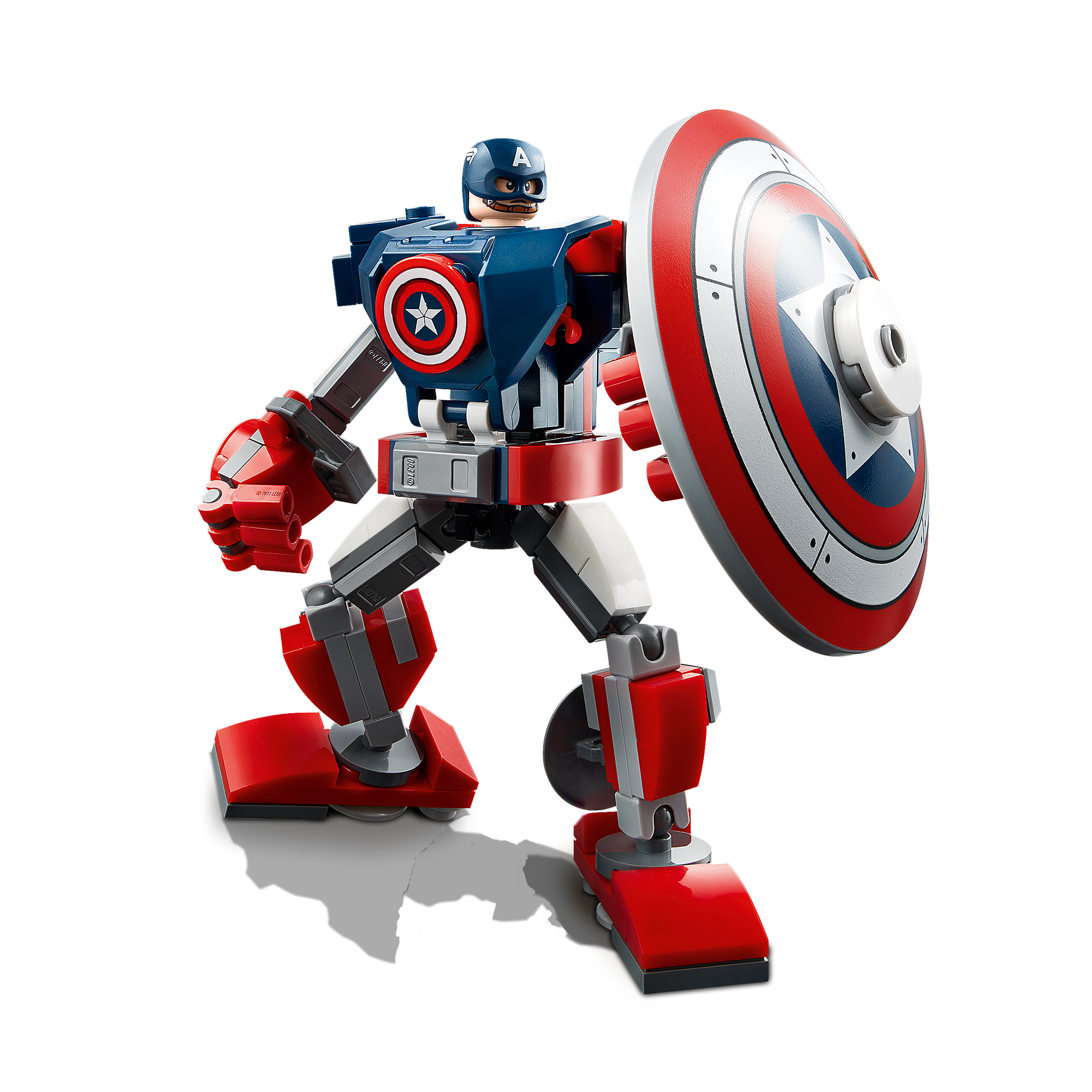 Lego marvel super heroes captain america mech armor -76168 - Marvel Super Heroes