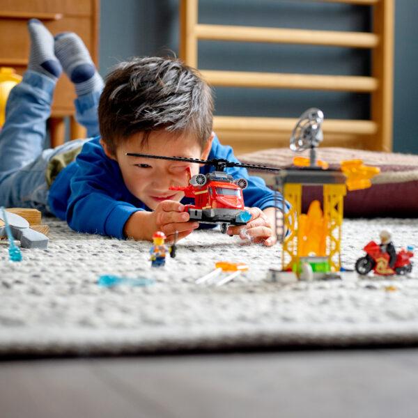 LEGO City Elicottero antincendio - 60281    City