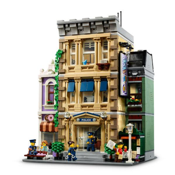 LEGO ARCHITECTURE LEGO Creator Expert Stazione di Polizia, Grande Set di Costruzioni per Adulti, Collezione di Edifici Modulari, 10278