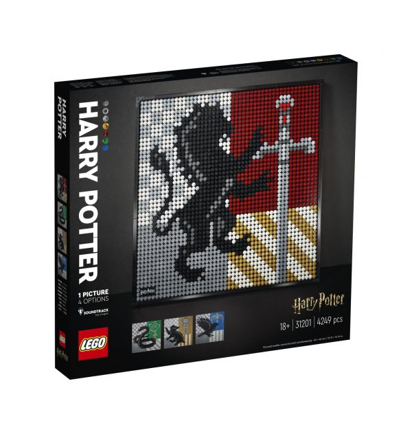 LEGO ART Harry Potter Hogwarts Crests - 31201 ART
