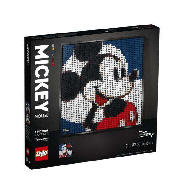 LEGO ART Disney's Mickey Mouse - 31202 ART