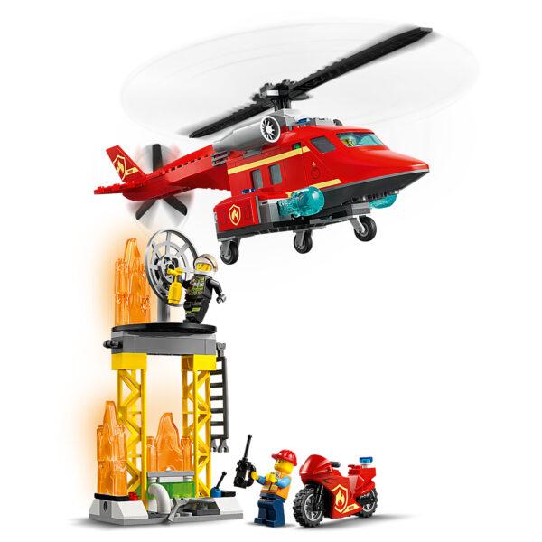 City  LEGO City Elicottero antincendio - 60281