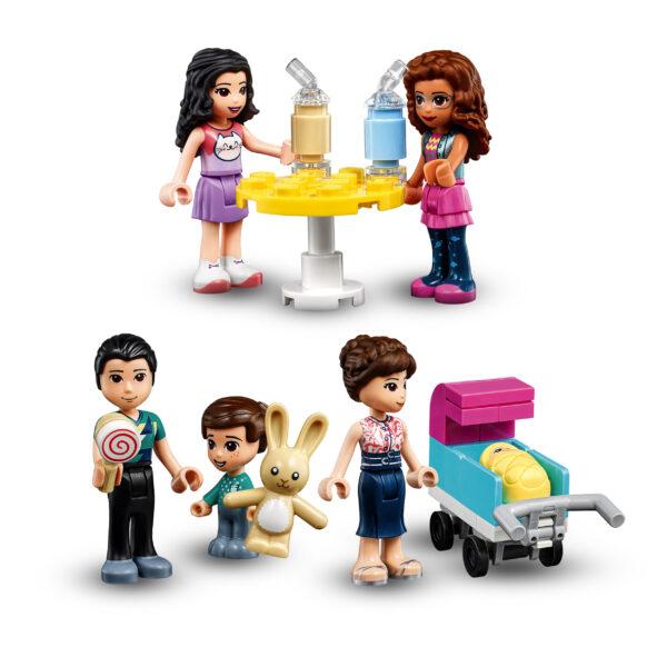 LEGO Friends Il Centro Commerciale di Heartlake City, Playset con 5 Negozi, 4 Mini-doll, una Micro-doll e un Bebè, 41450 LEGO FRIENDS