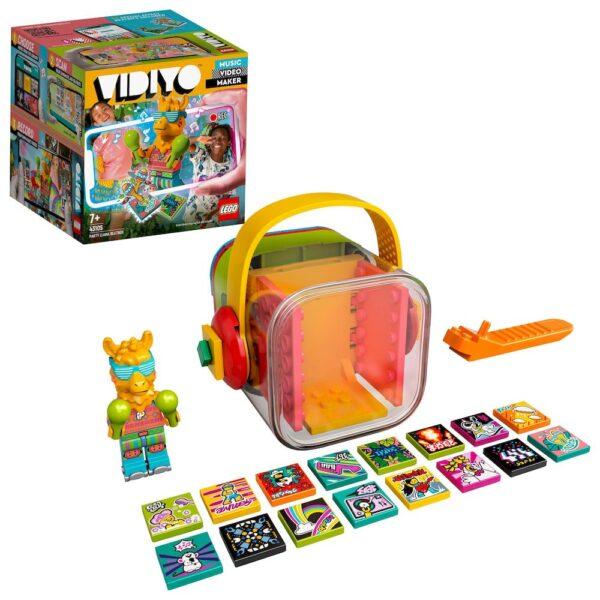 LEGO VIDIYO Party Llama BeatBox Creatore Video Musicali con Lama, Giocattoli per Bambini, App Realtà Aumentata, 43105 Lego