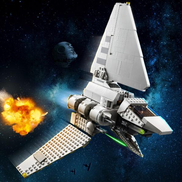 LEGO Star Wars Imperial Shuttle, Set di Costruzioni con Minifigure di Luke Skywalker e Darth Vader con Spada Laser, 75302   Lego
