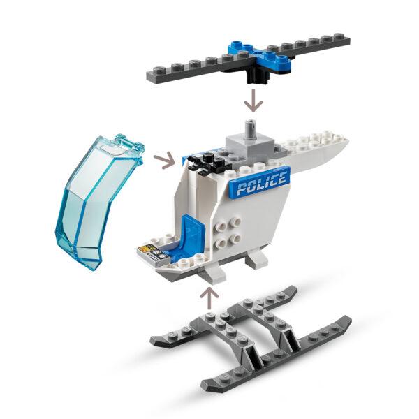 City   LEGO City Elicottero della Polizia - 60275