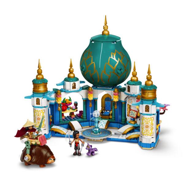 Lego  LEGO Disney Princess Raya e il Palazzo del Cuore, Castello Giocattolo con Mini-doll di Namaari, Tuk Tuk e Serlot, 43181