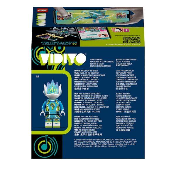 Lego  LEGO VIDIYO Alien DJ BeatBox Creatore Video Musicali con Alieno, Giocattoli per Bambini, App Realtà Aumentata, 43104