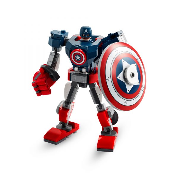 Marvel Super Heroes  LEGO Marvel Super Heroes Captain America Mech Armor -76168