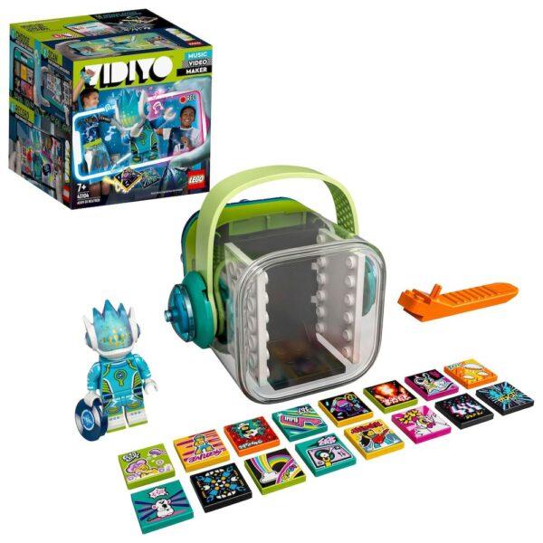 LEGO VIDIYO Alien DJ BeatBox Creatore Video Musicali con Alieno, Giocattoli per Bambini, App Realtà Aumentata, 43104 Lego