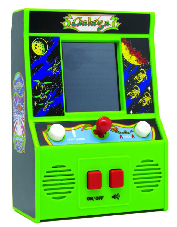 MINI ARCADE LCD GAMES - GALAGA ARCADE CLASSIC