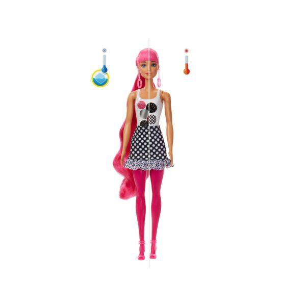 Barbie Color Reveal -Serie Monocromatica, Bambola con 7 Sorprese, Assortimento Casuale, 3+ Anni    Barbie