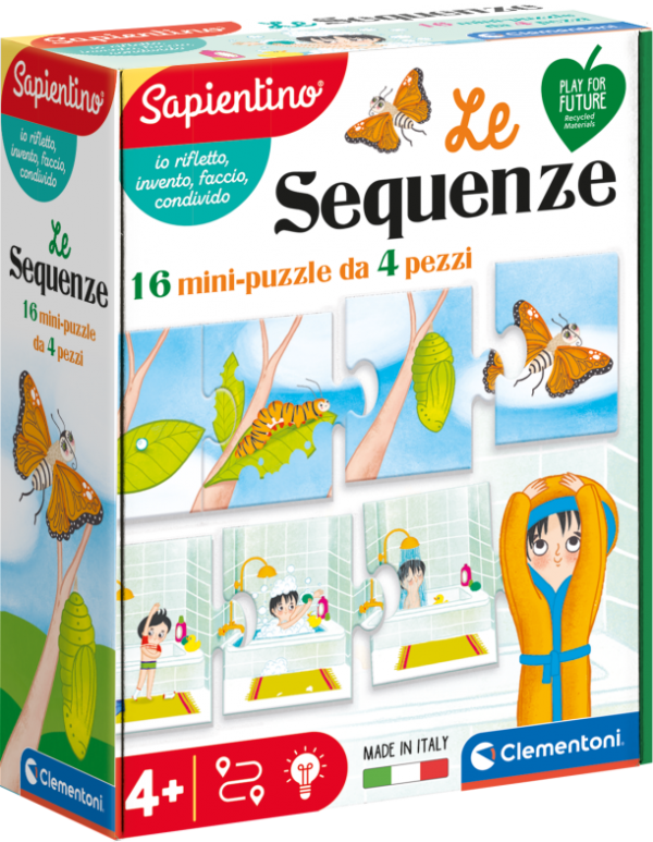 Clementoni - 16311 - LE SEQUENZE SAPIENTINO