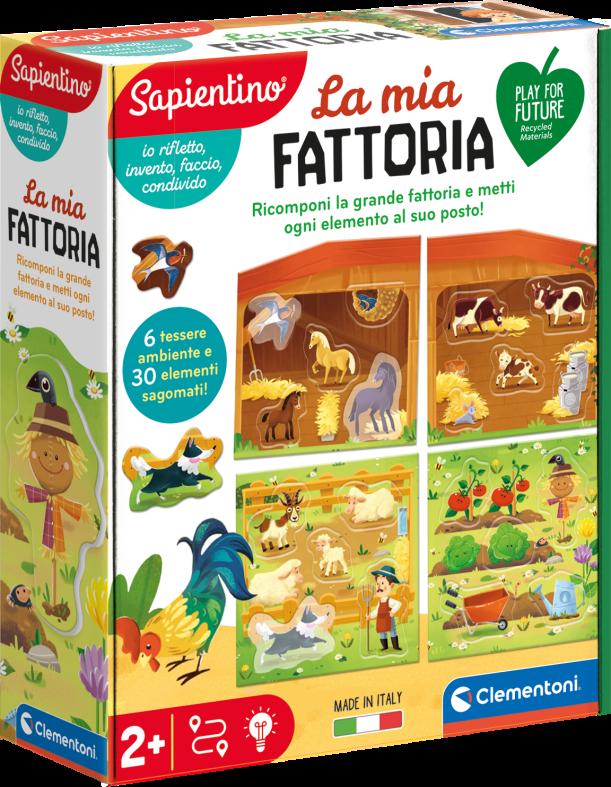 Clementoni - 16312 - la mia fattoria - SAPIENTINO