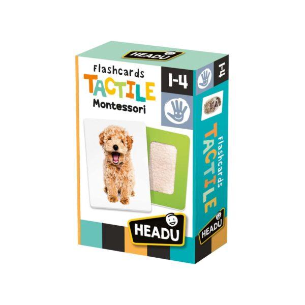 FLASHCARDS TACTILE MONTESSORI HEADU