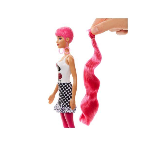 Barbie  Barbie Color Reveal -Serie Monocromatica, Bambola con 7 Sorprese, Assortimento Casuale, 3+ Anni