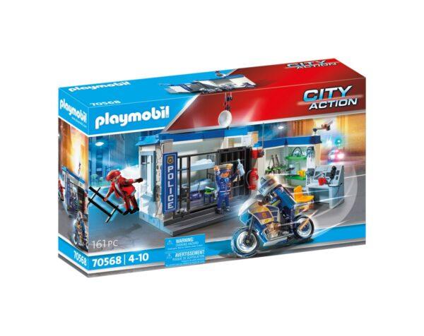 FUGA DALLA STAZIONE DI POLIZIA Playmobil