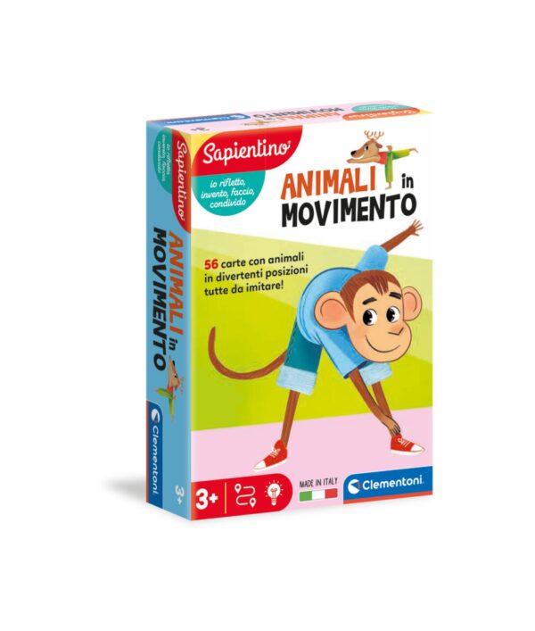 Clementoni - 16307 - ANIMALI IN MOVIMENTO SAPIENTINO