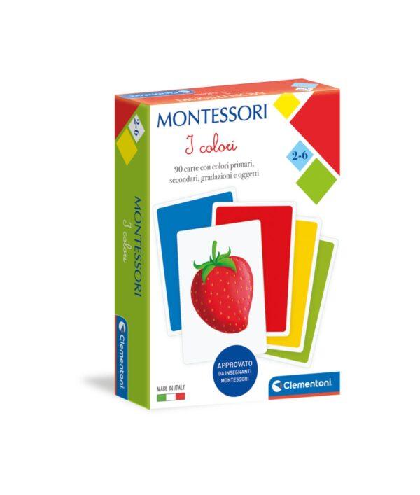 Clementoni - 16333 - MONTESSORI - CARTE COLORI CLEMENTONI