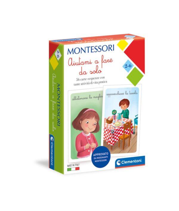 Clementoni - 16318 - MONTESSORI - CARTE AIUTAMI A FARE DA SOLO CLEMENTONI