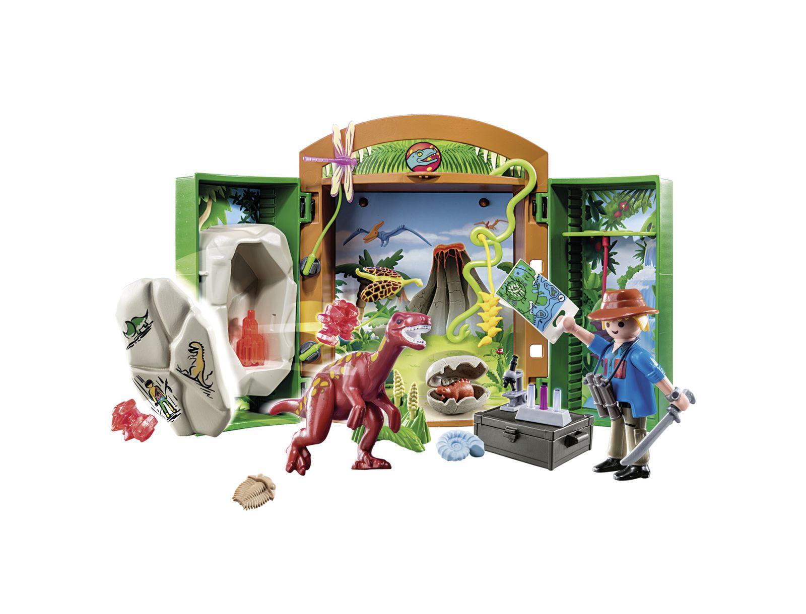 "Play box ""archeologo con uovo di dinosauro"" - Playmobil"