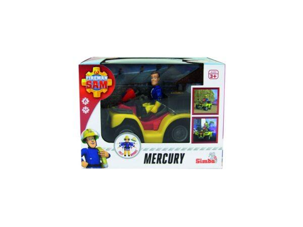 SIMBA - SAM IL POMPIERE, QUAD MERCURY, + 3 ANNI, 109257657038 Fireman Sam