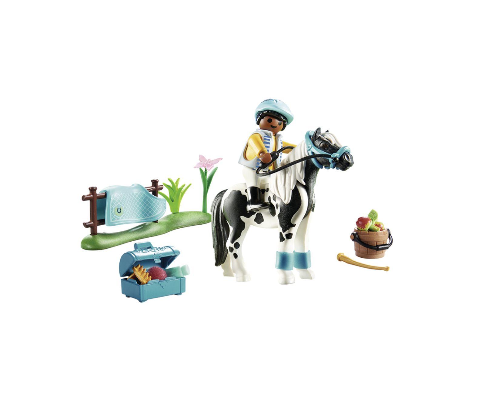 "Pony ""lewitzer"" - Playmobil"